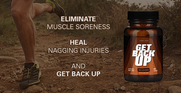 Get Back Up, an all-natural anti-inflammatory supplement for recovery