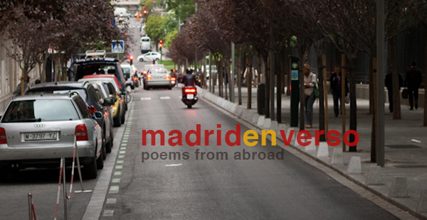 Madrid en Verso, poems by Tim Gorichanaz